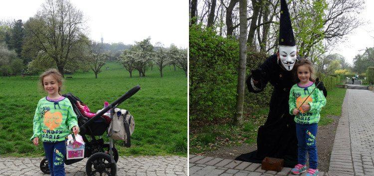 פארקים בפראג
