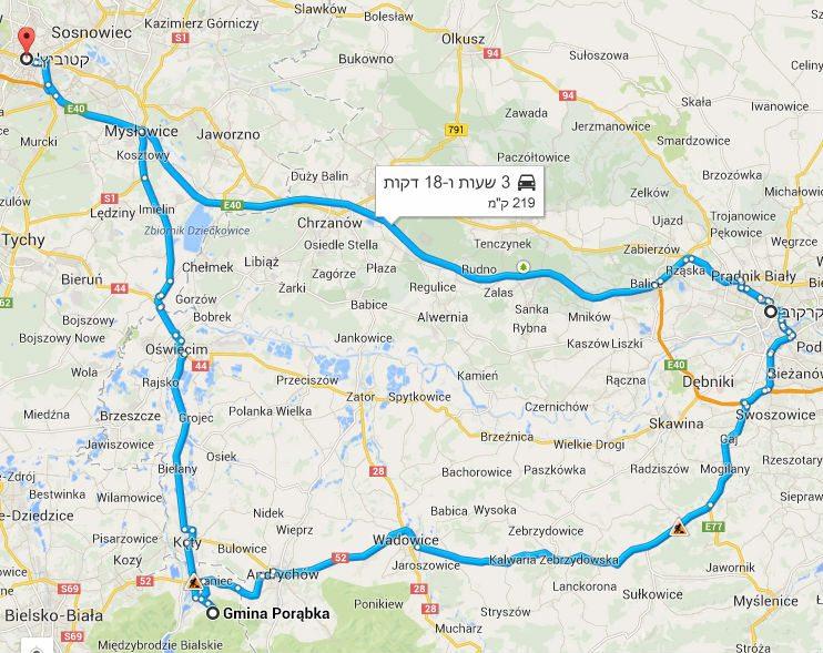 טיול בפולין