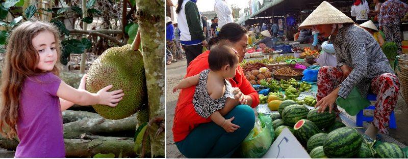שוק הפירות בוייטנאם