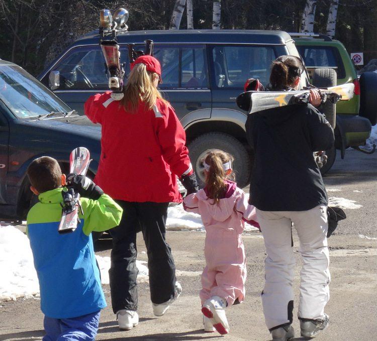 בדרך למסלולי הסקי