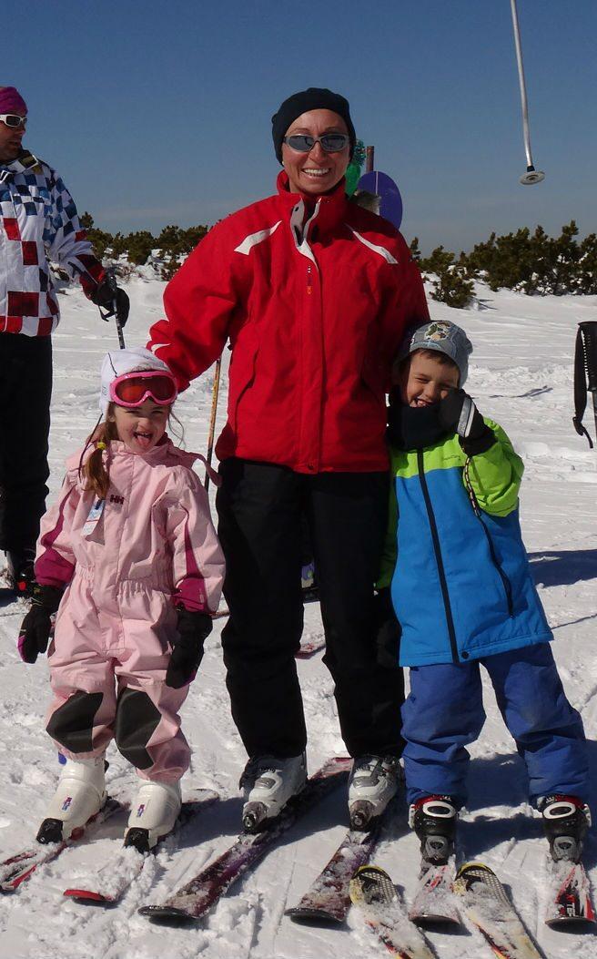 שיעורי סקי לילדים