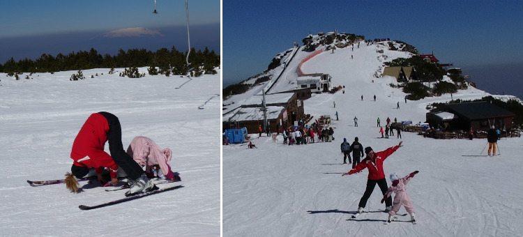 אימוני סקי לילדים