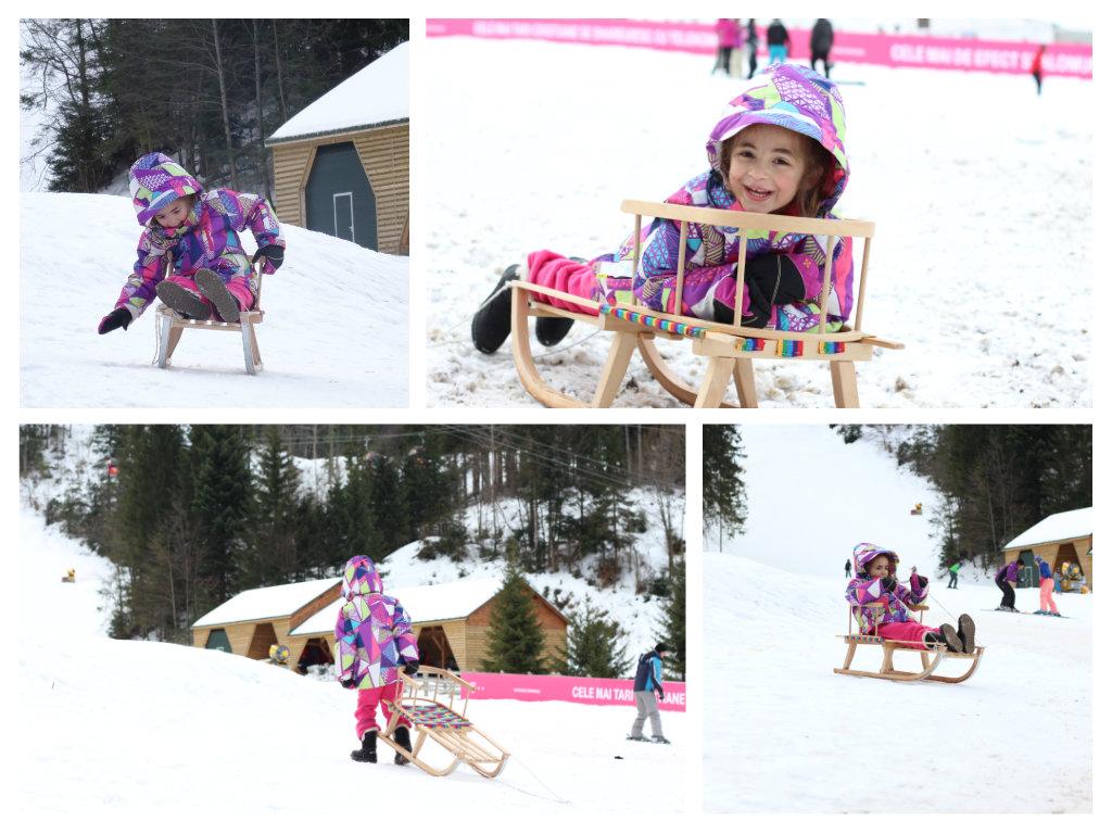מזחלת שלג לילדים