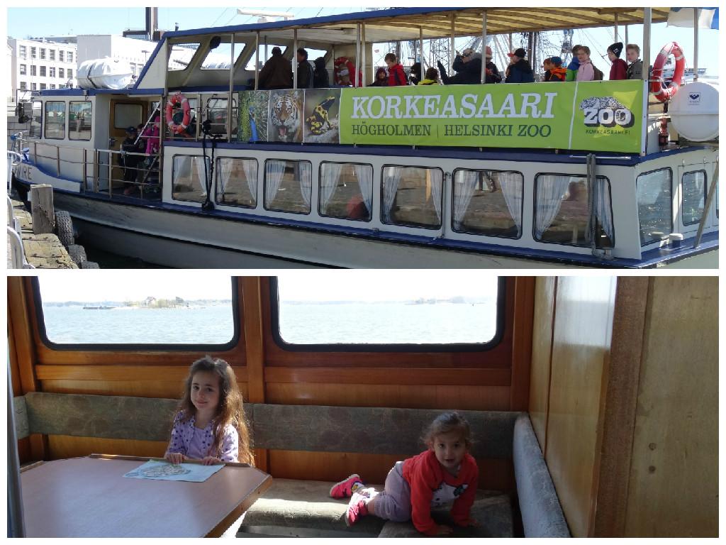 מעבורת לגן החיות של הלסינקי