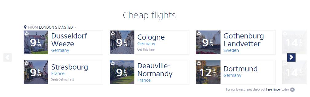 ריינאייר טיסות זולות