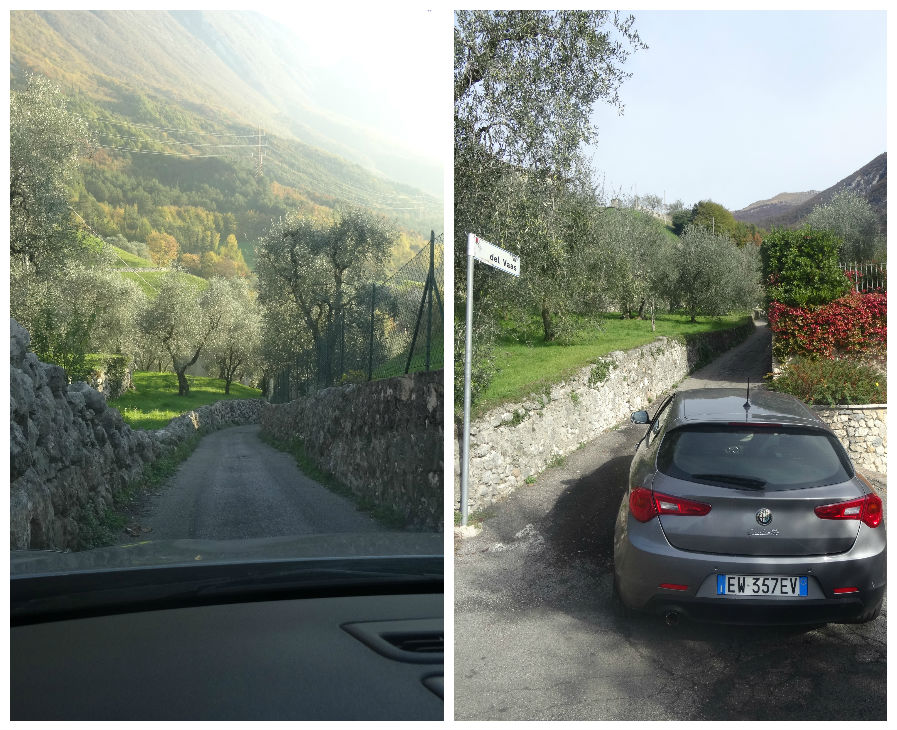 הדרך לרכבל מונטה באלדו