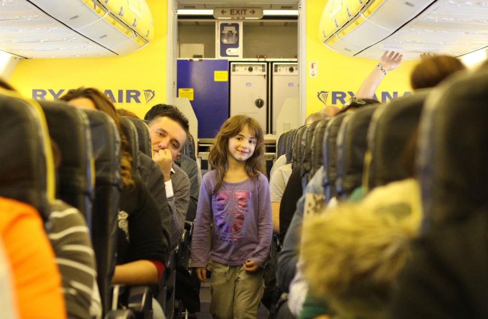 הטיסה לברצלונה
