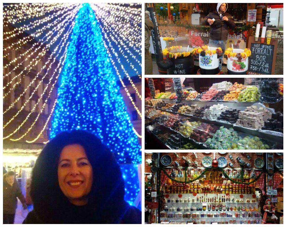 שווקי חג המולד בבודפשט