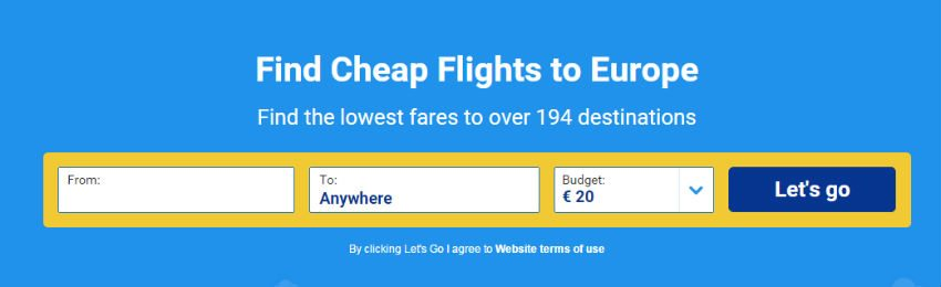 rynair cheap flights
