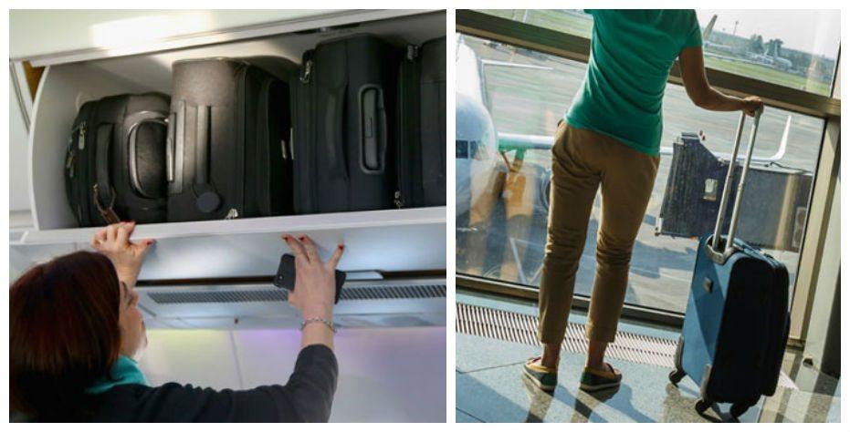 מזוודה למטוס