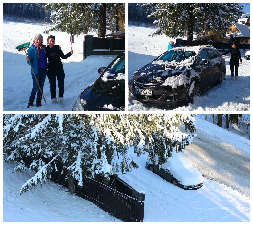 אוטו עם שלג