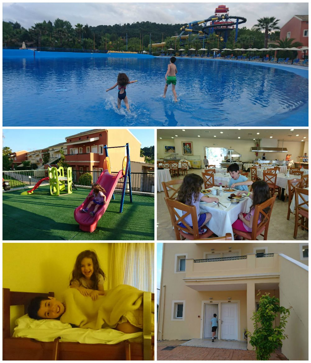 corfu aquapark resort