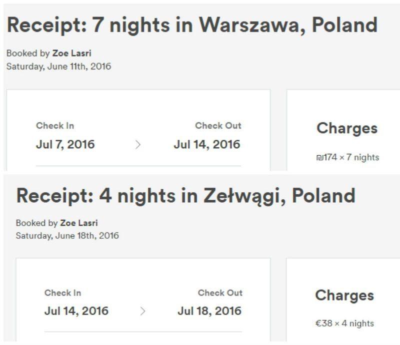 לינה בפולין