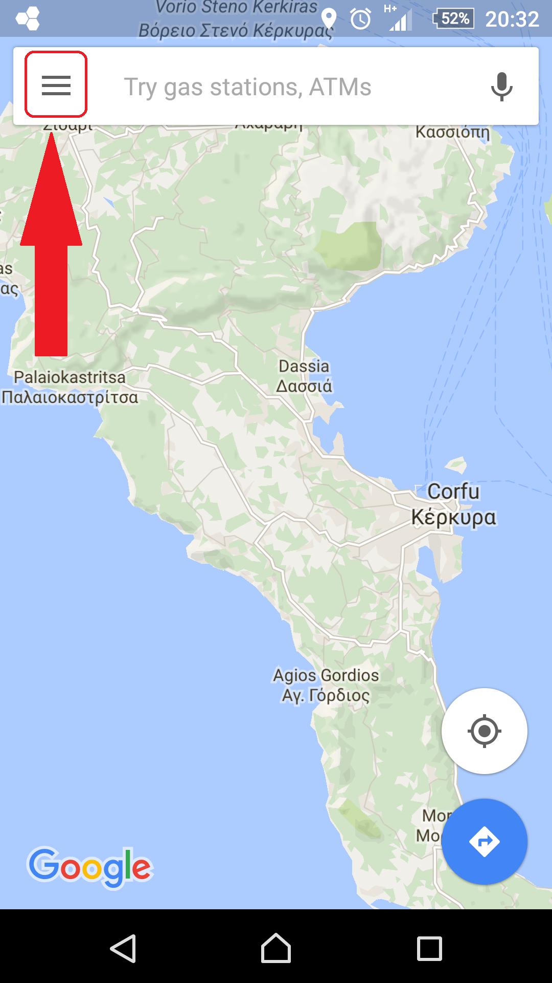 מפות של גוגל 1